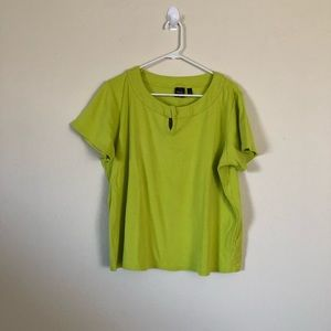 Green rafaella blouse